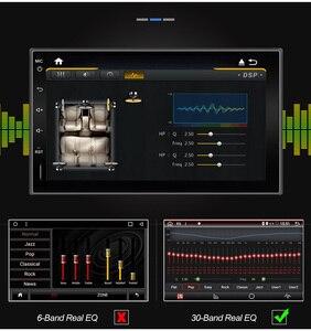 Image 2 - Eunavi 2 דין רכב רדיו מולטימדיה נגן Android10 אוניברסלי 7 HD אוטומטי אודיו סטריאו GPS ניווט 2Din 4G WIFI DSP 4G RAM BT5