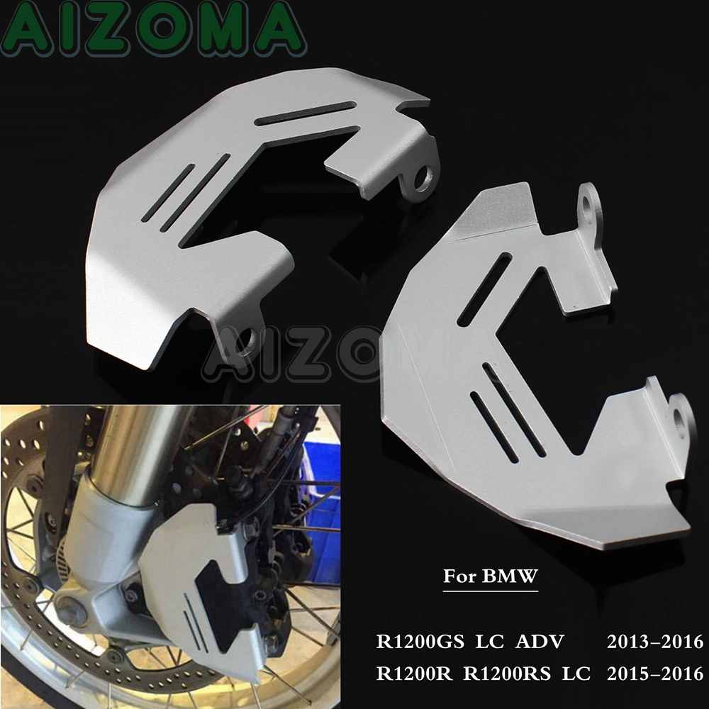 1 Pair Motorcycle Brake Caliper Cover Protector Guards For <font><b>BMW</b></font> R1200R <font><b>1200RS</b></font> R1200GS LC ADV Adventure 2013 2014 2015 2016 image