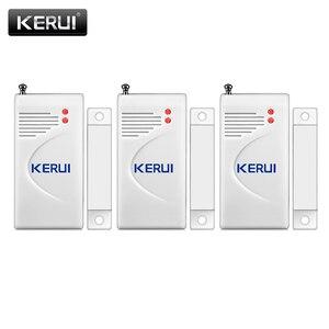 Image 5 - Kerui 3 pçs/lote 433mhz sem fio sensor de abertura alarme em casa janela segurança/sensor porta gap detector para gsm pstn sistemas alarme