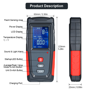 Image 4 - Radiation Detector Tester Counter Dosimeter Emission Electromagnetic Portable Dosimeter Emf Tester Field Radiation Detector