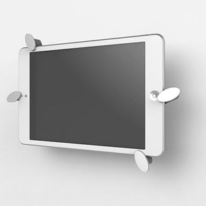 Image 2 - Universal Aluminum Alloy Tablet Wall Mount Holder Stand 360 Rotation Rotary Tab Bracket for cell phone O26 19 dropship