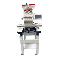 DSCN1201 Automatic single head embroidery machine small ready to wear hat embroidery machine commercial embroidery machine 220V
