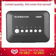 1080P Full HD SD/MMC ТВ видео SD MMC RMVB MP3 Мульти ТВ USB HDMI медиаплеер с пультом дистанционного управления