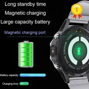 Image 5 - Смарт часы мужские с пульсометром и тонометром, водостойкие, IP68