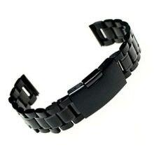 18mm 20mm pasek do zegarka 22mm bransoleta ze stali nierdzewnej zegarek pasek prosto koniec stałe mężczyźni kobiety zegarek kwarcowy ilość opaski do zegarka
