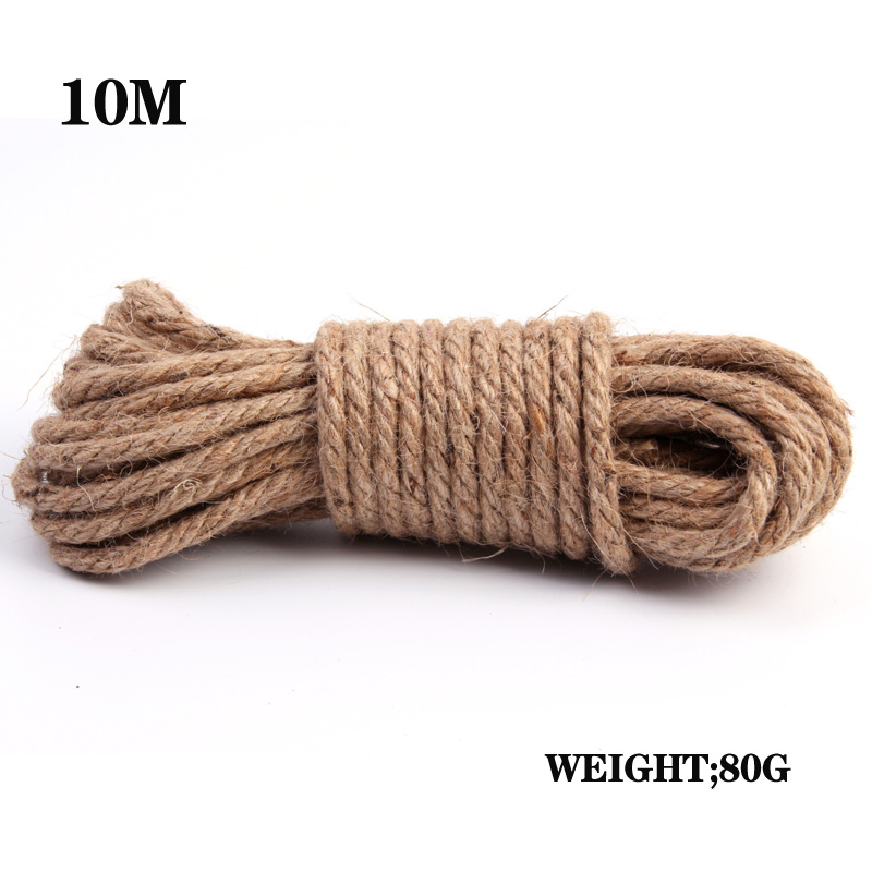 10m Bondage Twine Restraints Flirting 10m Rope Coarse Jute Rope Direct Marketing Of Adult Products Sex Toys For Couples