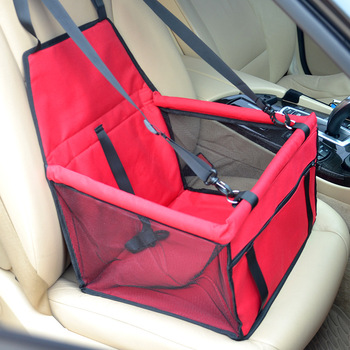 CAWAYI KENNEL Travel Dog Car Seat Cover Folding Hammock Pet Carriers Bag Carrying For Cats Dogs transportin perro autostoel hond 8