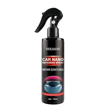 120ml Car Nano Repair Spray Car Crystal Ceramic Coating Paint Care Nano Hydrophobic Cleaning Spray Car Paint Coating Spray 30ml hardness 10h super hydrophobic car glass coating car liquid coat paint care durability anti corrosion coating set