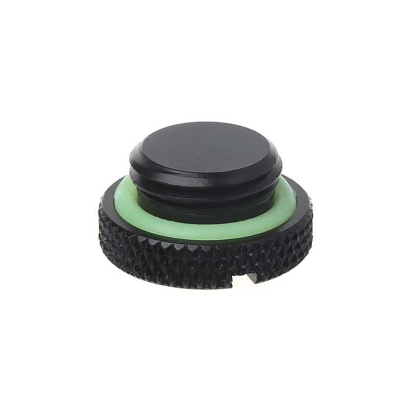 Mini G1/4 Smooth Water Stop End Cap Plug For Water Cooling System Sealing Up