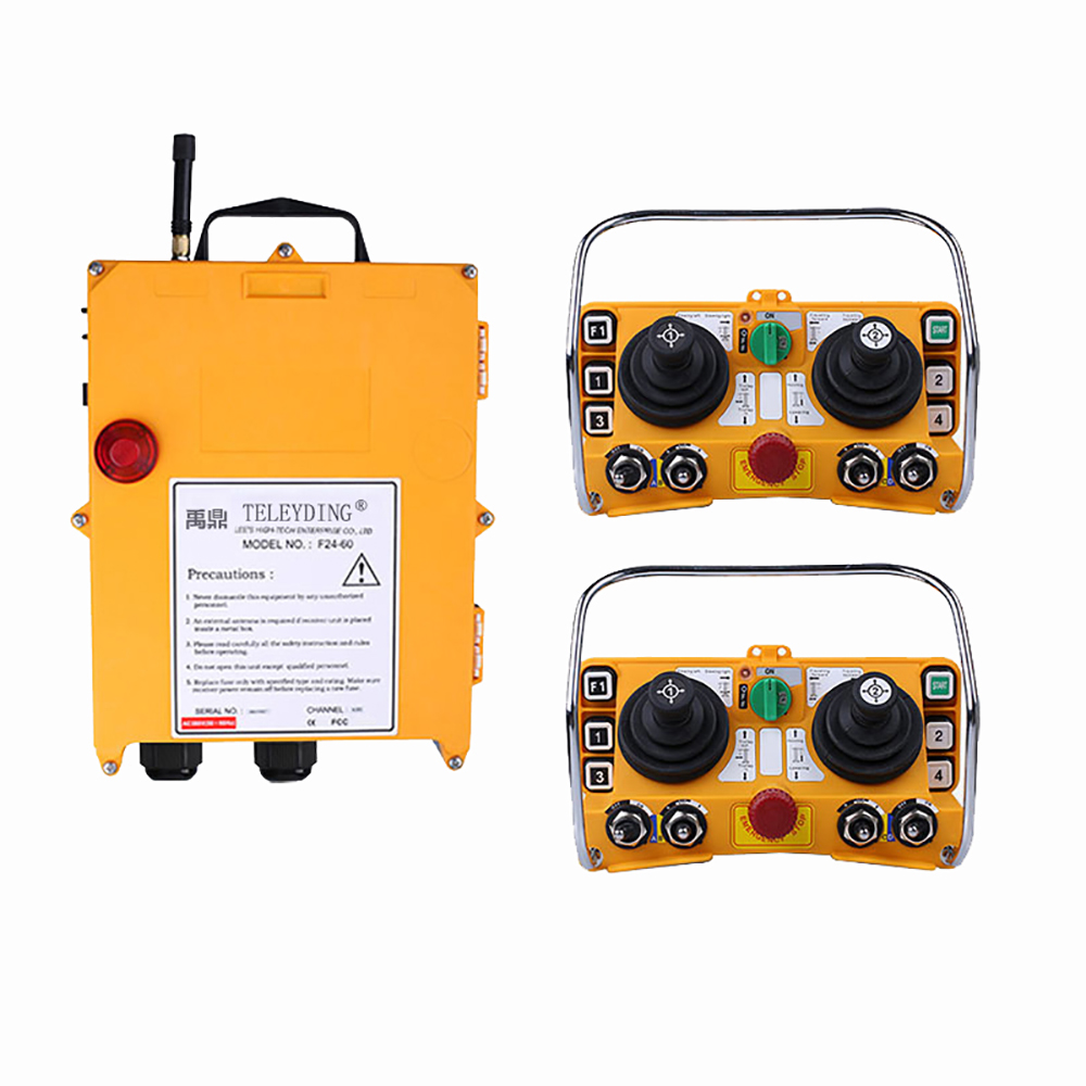 Wireless Industrial Remote Controller Electric Hoist Remote Control Transmitter + F24-60 Receiver Y