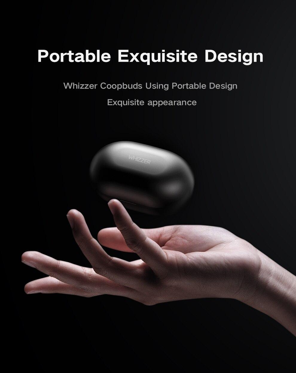 Whizzer C3 APTX TWS Wireless Earbuds 8