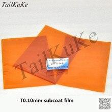 カプトンテープポリイミド絶縁フィルム100umゴールドフィルムゴールド指厚さ0.1ミリメートルブラウン高温フィルムA4用紙サイズ