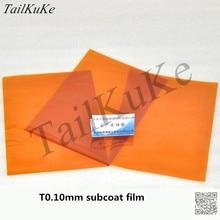 KAPTON Polyimid Isolierung Film 100um Gold Film Gold Finger Dicke 0,1mm Braun Hohe Temperatur Film A4 Papier Größe