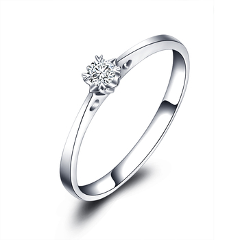 1 Carat Diamond Ring Genuine 18k White Gold Platinum Rose Gold Couple Married To Marry Diamond Ring