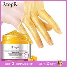 Mango Moisturizing Hand Wax Whitening Skin Hand Mask Repair Exfoliating Calluses Film Anti-Aging Hand Skin Treatment Cream 50g(China)