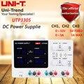 UNI-T UTP3305 multi-channel lineaire DC voeding 0 naar 32 V/0 te 5A verstelbare, 5 V/3A vaste