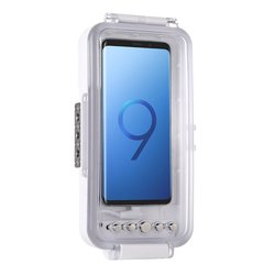 Puluz Android Type-C Otg Mobile Phone Universal Diving Waterproof Case Pc+Abs Protective Case 45 Meters Waterproof Pu9100W