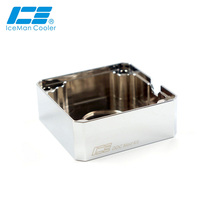 Mod-Kit Ddc Pump Icemancooler Water-Cooling-Below Electroplated Armor Copper-Cover Refit