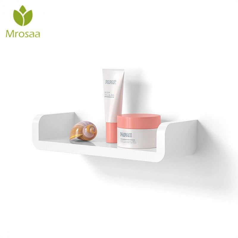 NEW Practical Bathroom Shelf Wall Holder Kitchen Storage Rack Bathroom Storage & Organization Shower Shelf Tray Waterproof