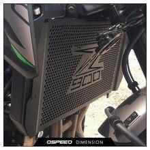 Para kawasaki z900 2017 2018 2019 protetor do radiador da motocicleta guarda grill capa protetor de refrigeração capa