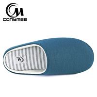Winter Men Home Slippers Casual Indoor Shoes Footwear Soft Plush Bedroom Slippers Sandals Non-slip Male Warm Cotton Slipper Shoe 1