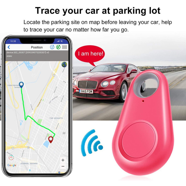 Key Finder Smart Tracker Locator Wireless Bluetooth Anti Lost Alarm Tag Device For Kids Pets Wallet Motorcycle Luggage Keyfinder 3