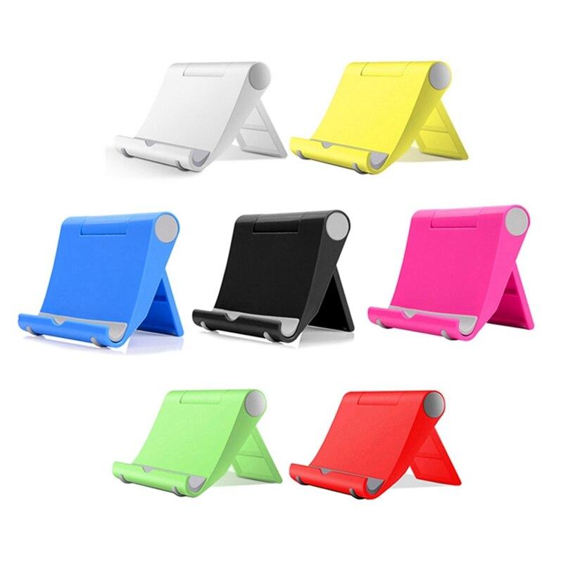 New Fashion Desktop Mobile Phone Holder Desktop Rotating Desktop Tablet Base Folding Lazy Mobile Phone Bracket