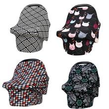Baby Milk Snob Car Seat Cover Nursing Covers for Breastfeeding Stretchy Shawl Scarf Girls Boys Udder Breast Feeding Cover Up
