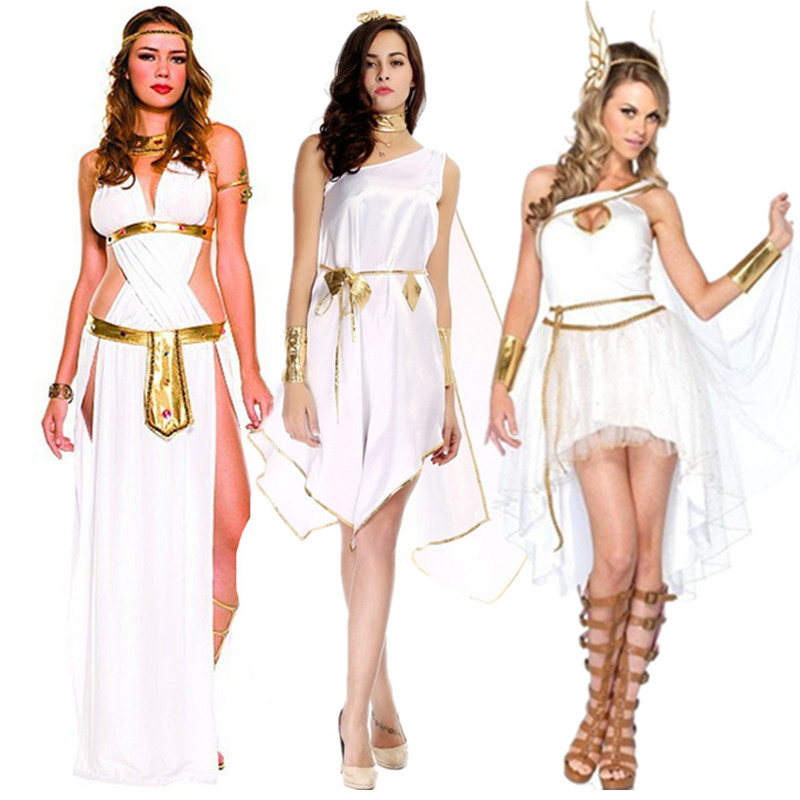 Sexy Egyptian Queen Cleopatra Costume Adult Women Irregular Ancient Greek Goddess Costume Halloween Carnival Party Fancy Dress Holidays Costumes Aliexpress