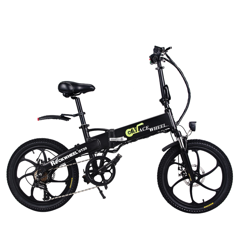 Folding bike Aluminum Electric electric Bicycle 20inch 400W Powerful Mottor 48V10A Battery 32km/h Mountain e bike city/Snow bike 2