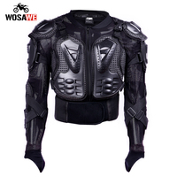 GHOST RACING Motorcycle Armor Jacket Motocross Body Protection Riding Moto Downhill Protective Guard Armor Chest Back Protector