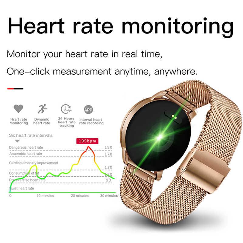 Reloj inteligente marca LIGE 2019 para mujer, relojes deportivos para hombre, reloj inteligente para Fitness, Monitor de presión arterial, ritmo cardíaco, para Android IOS