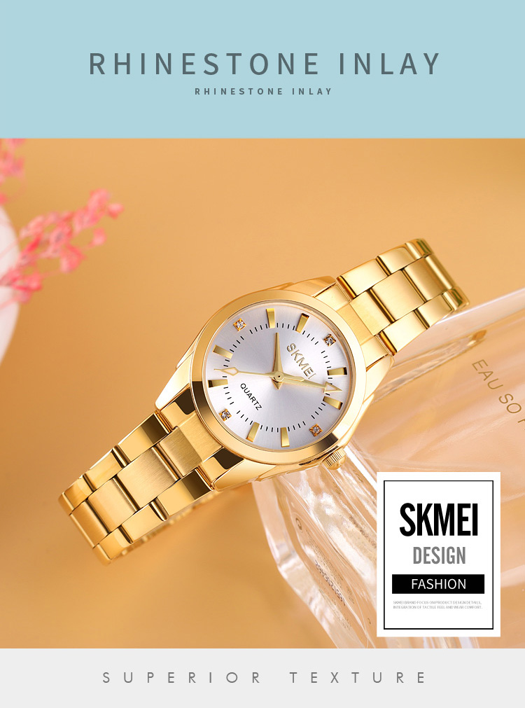 H2627a8a978e247c2bfcfc594d166a19du 2020 SKMEI Casual Women Romantic Quartz Watches Luxury Female Girl Clock Waterproof Ladies Wristwatches Relogio Feminino 1620