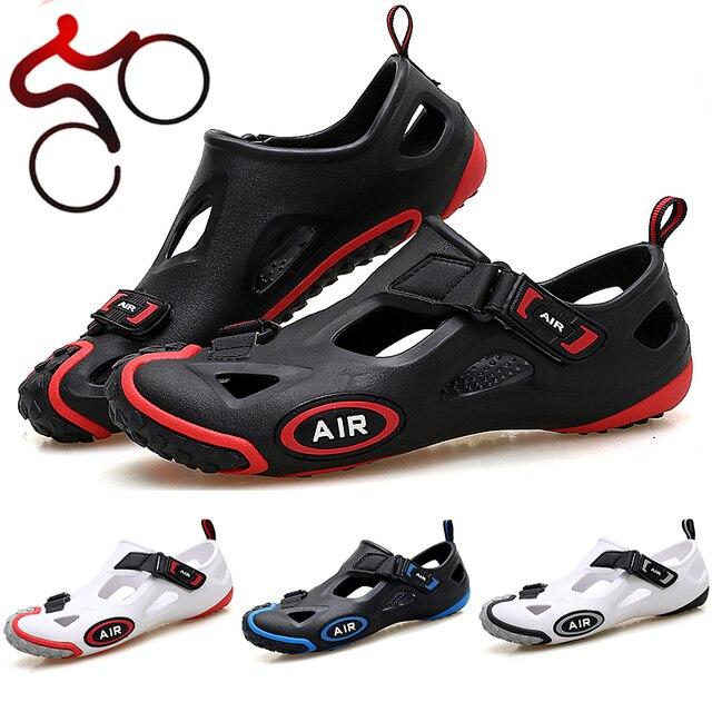 Todo O Terreno Não-Bloqueio Ciclismo Sapatos Mtb Mountain Bike Sapatos de Lazer Das Mulheres Dos Homens Da Bicicleta Da Estrada Não-Bloqueio Sapatos de Lazer Tênis 1