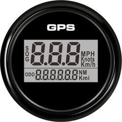 1pc New Style 52mm GPS Speedometers Tuning LCD Speed Odometers Sog Mileometers with 8 Kinds Backlight Color for Auto Boat Truck