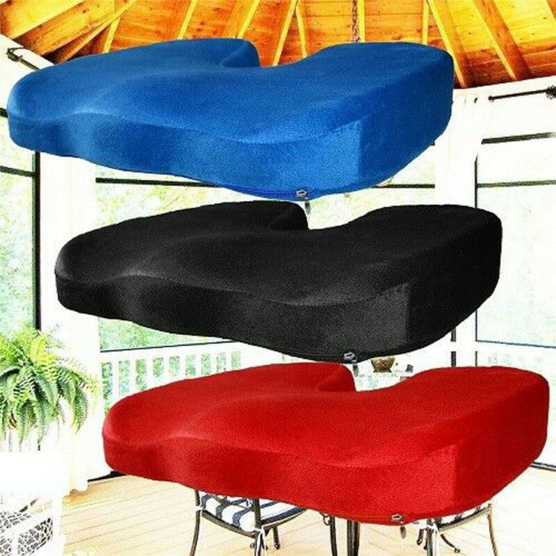 2019 Fashion Brand New Hot Sales Memory Foam Seat Cotton Cushion Office Chair Cushions Breathable Butt Cheek 3 Colors