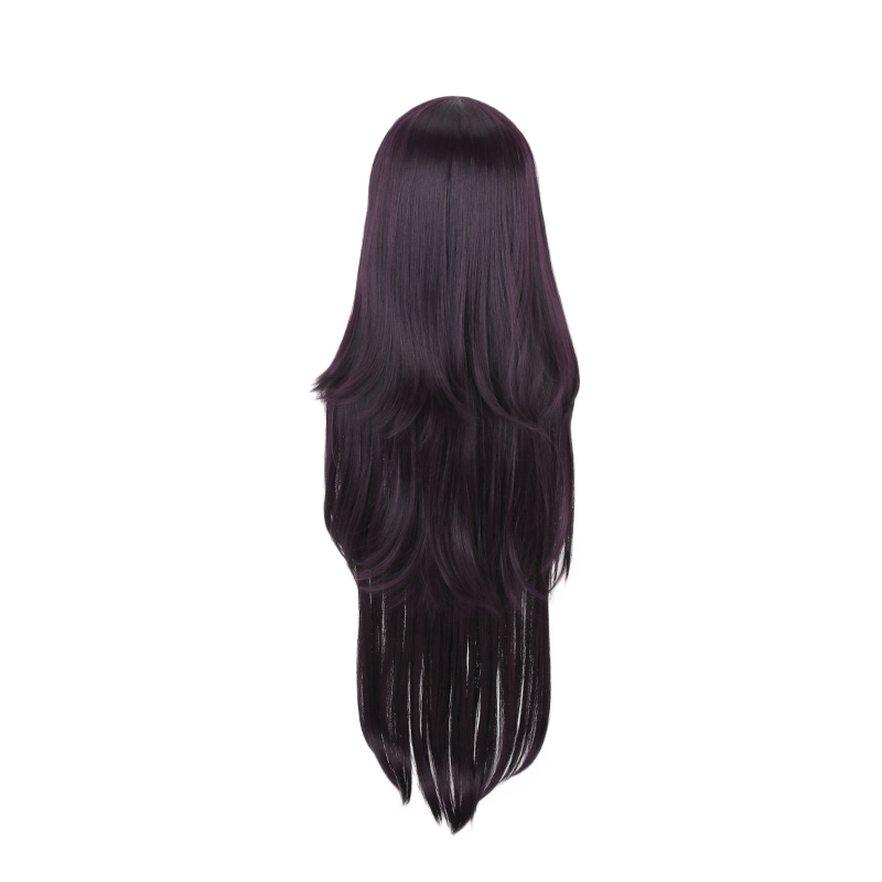 Image 4 - Dangan Ronpa Tsumiki Mikan Long Wig Cosplay Costume Danganronpa Women Heat Resistant Synthetic Hair Halloween Party Wigs-in Anime Costumes from Novelty & Special Use