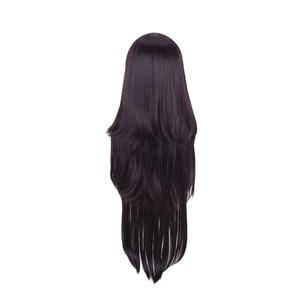 Image 4 - Dangan Ronpa Tsumiki Mikan Long Wig Cosplay Costume Danganronpa Women Heat Resistant Synthetic Hair Halloween Party Wigs