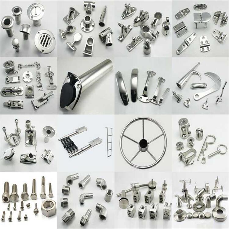 Yacht Accessories Vessel Parts Stainless Steel 316 Manufacturers Direct Supply Marine Hardware