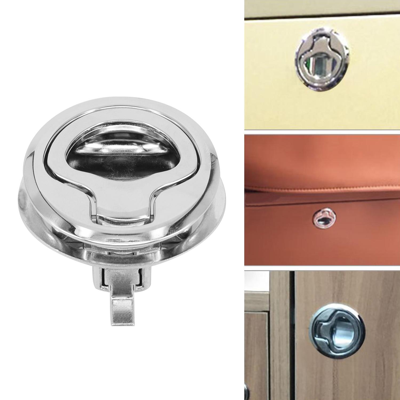 Аксессуары, промывка люка, защелка, практичная для лодочного люка, дверца из нержавеющей стали, вытяжное крепление, кольцевая защелка заподлицо