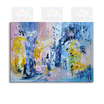 handmade oil painting on canvas modern 100%  Best Art Abstract oil painting original  directly from artis CHX-00H