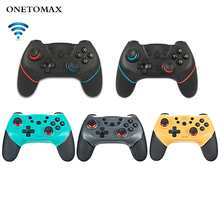 цена на for Nintend Switch Pro NS-Switch Pro Game Controller Gamepad Wireless-Bluetooth Gamepad Game Joystick Console with 6-Axis Handle