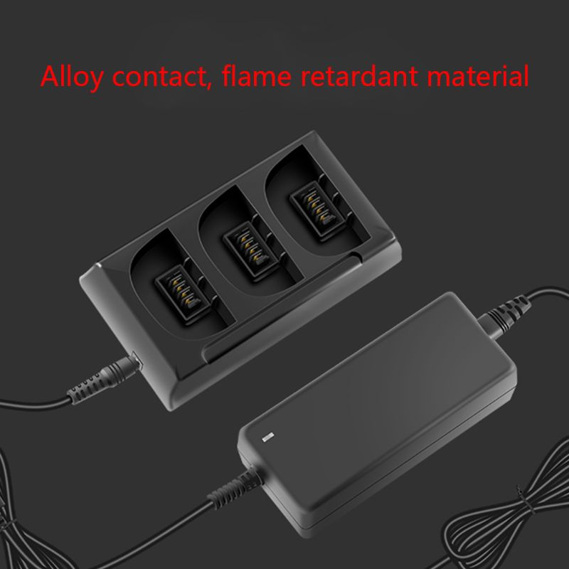 1Set High Capacity Intelligent Battery Charger 3 Ports Fast Charging Adapter for Parrot Bebop 2 Drone FPV Accessories in Camera Charger from Consumer Electronics