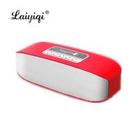 Laiyiqi hot 2019 mini Bluetooth wireless speaker boombox Radio FM handsfree call enceinte bluetooth portable puissant gear dia