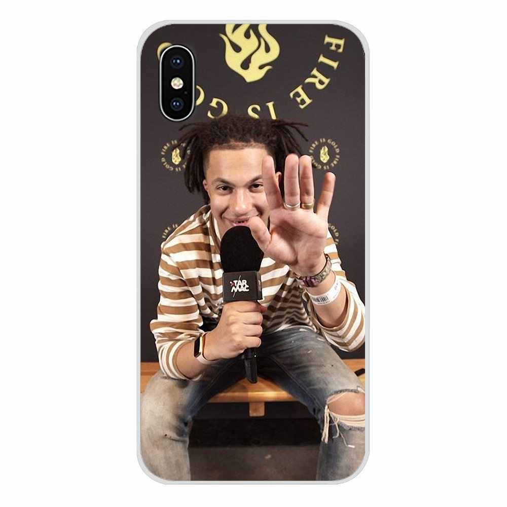 Jacin Trill hiphop แฟชั่นโทรศัพท์มือถือกรณีครอบคลุมสำหรับ LG G3 G4 Mini G5 G6 G7 Q6 Q7 Q8 Q9 v10 V20 V30 X Power 2 3 K10 K4 K8 2017