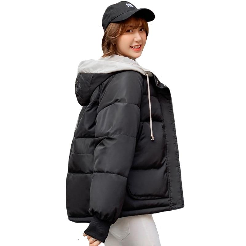 2019 Korean Style Winter Style Women Cotton Racer Women's Short Jacket 5 Colors Womens   Parka