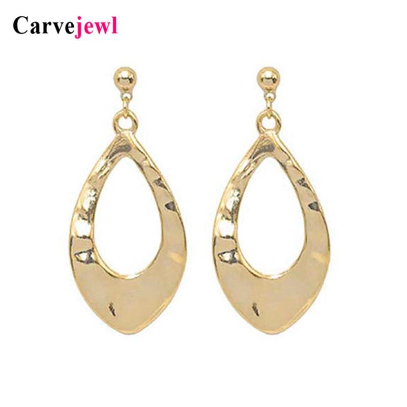Boucles d'oreilles courtes en forme de bijoux en métal simple évider pendentif boucles d'oreilles pendantes romantique coréen en plastique crochet anti-allergie boucles d'oreilles