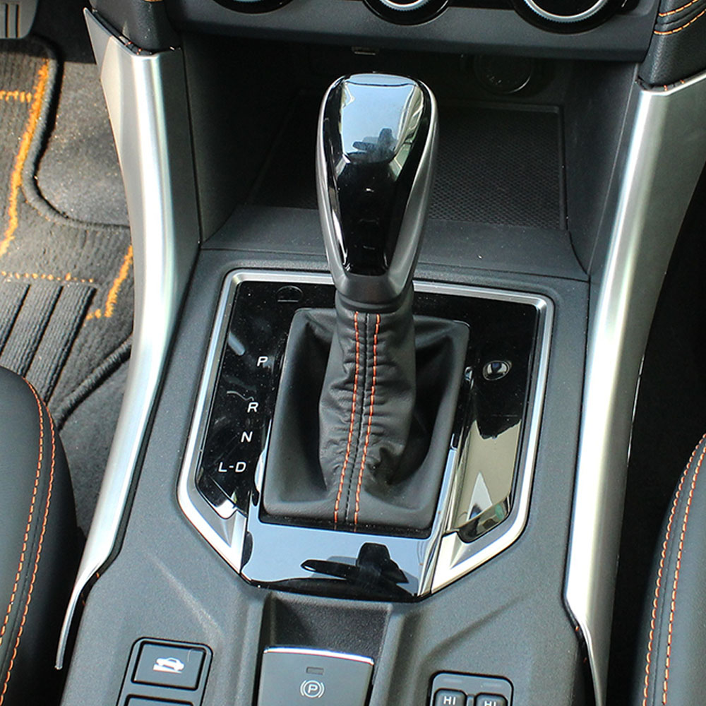 Carbon Fiber Steering Wheel Decorative Patch Cover Trim For Subaru XV 2018