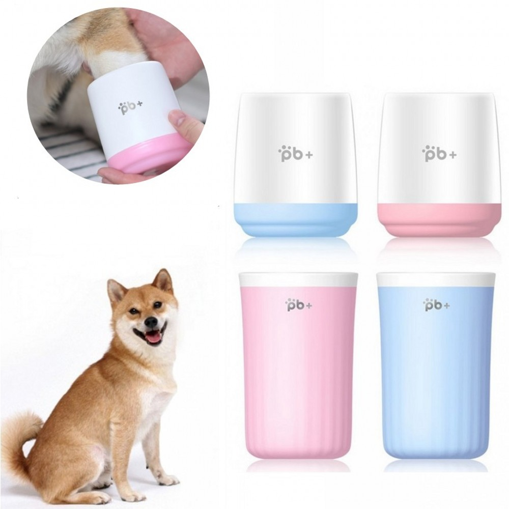 S L <font><b>Dog</b></font> Foot Wash Cup Quickly Wash Foot Cleaning Bucket Silicone <font><b>Dog</b></font> Brush Soft Large <font><b>Dog</b></font> <font><b>Paw</b></font> <font><b>Cleaner</b></font> Cup For Small <font><b>Dogs</b></font> Cats image