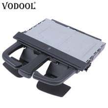 VODOOL Folding Car Cup Holder In Dash Console Beverage Can Drink Bottle Stand Bracket For VW Golf 4 Bora Audi A4L A5 Q5 A7 Q7